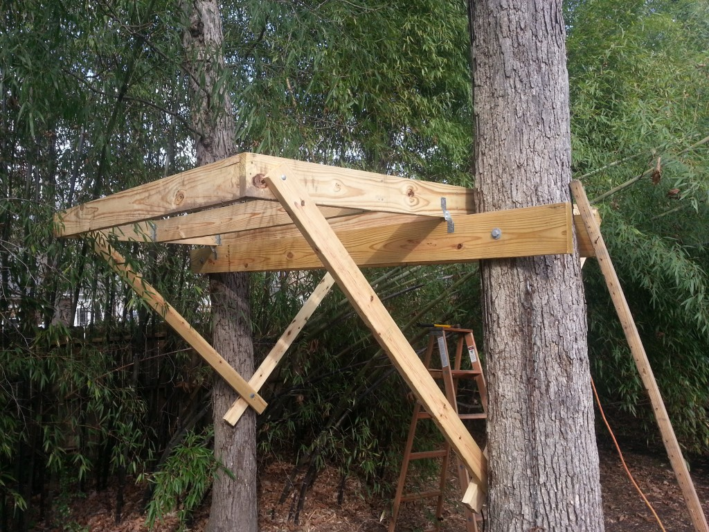 How to build a treehouse phase two the base homes for